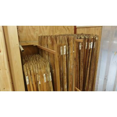 Garden Tree Stakes Hardwood Pegs Pack Wooden Timber Support ...