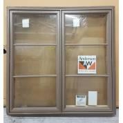 Timber Window Aluminium/Plastic Clad & Wooden Casement 1220x1220mm AND61