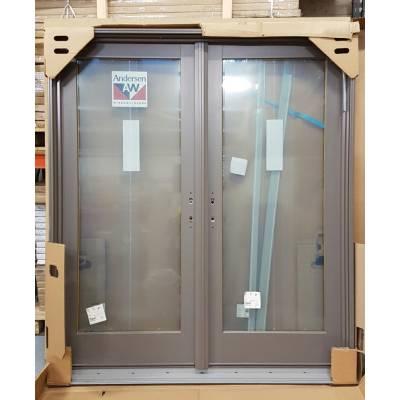 Aluminium Timber French Doors Patt20 Door Pair Frame Set 181...