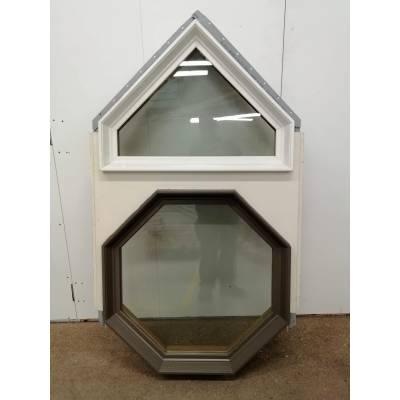 Timber Window Aluminium/Plastic Clad & Wooden Direct Gla...