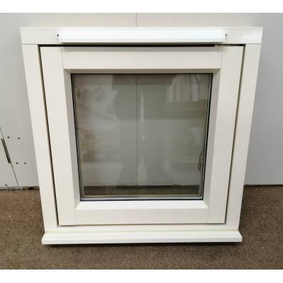 Timber Window Aluminium Clad & Wooden Glazed 600x600mm A...