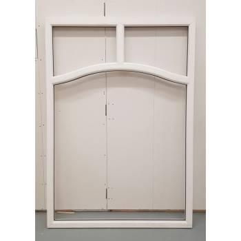 BAR20 1490x1840mm PVC Woodgrain Window