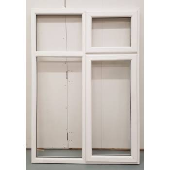 BAR22 1285x1840mm PVC Woodgrain Window