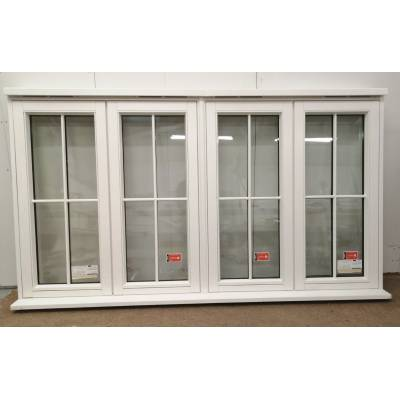 Wooden Timber Window Glazed Traditional Flush Casement 2380x...
