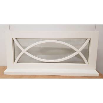 POL02 Timber Window 1040x485mm