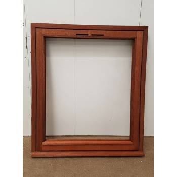 Wooden Timber Hardwood Window Fully Reversible Casement 1045x1195mm SC04 Sapele
