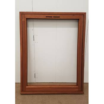 Wooden Timber Hardwood Window Fully Reversible Casement 1195x1495mm SC10 Sapele