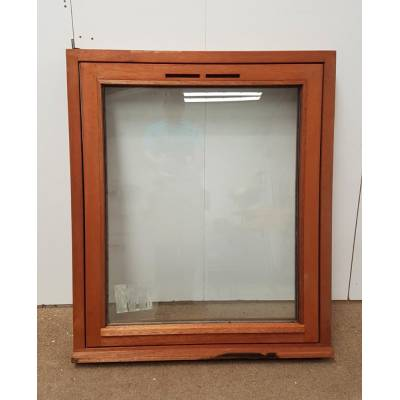 Wooden Timber Hardwood Window Glazed Fully Reversible Casement 900x1045mm SC13