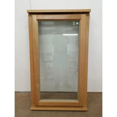 Oak Timber Window Wooden Double Glazed Casement 720x1220mm A...