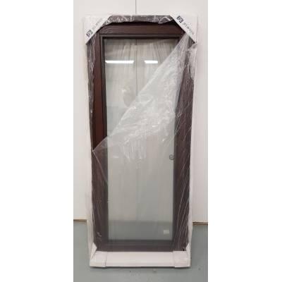 Oak Timber Window Double Glazed Wooden Stormproof Casement 625x1495mm JWC06