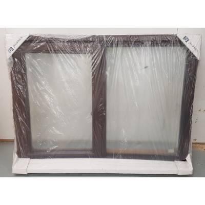 Oak Timber Window Double Glazed Wooden Stormproof Casement 1195x895mm JWC08