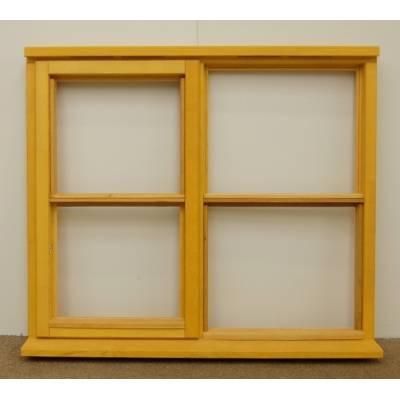 Wooden Timber Window Horizontal Centre Bar Casement Unglazed...