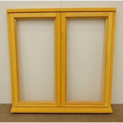 Wooden Timber Window Plain Casement Unglazed Softwood Jeldwen 1195x1195mm