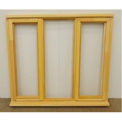 Wooden Timber Window Plain Casement Unglazed Softwood Jeldwen 1337x1195mm