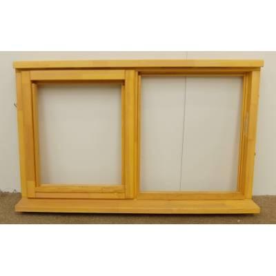 Wooden Timber Window Plain Casement Unglazed Softwood Jeld-wen 1195x745mm - Handing (externally viewed):