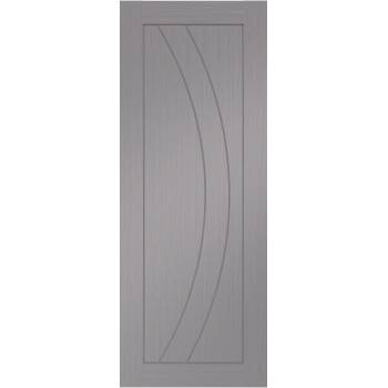 Pre Finished Salerno Light Grey Fire Door