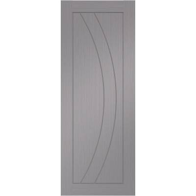 Pre Finished Salerno Light Grey Internal Door  - Door Size, ...