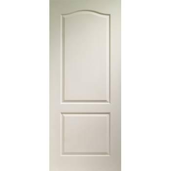 White Moulded Classique 2 Panel Internal Fire Door