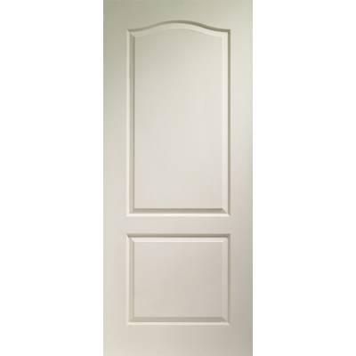 White Moulded Classique 2 Panel Internal Door - Door Size, H...