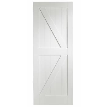 White Primed Cottage Internal Door