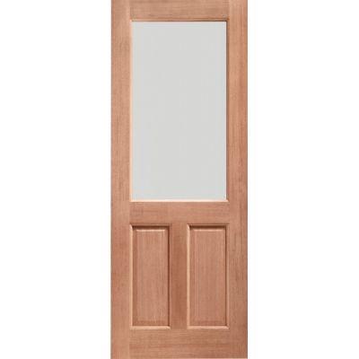 Unfinished 2XG Double Glazed Dowelled External Door - Door S...