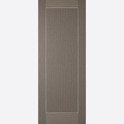 Pre-finished Chocolate Grey Inlay Internal Door Wooden Timbe...