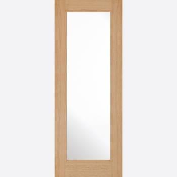 Pre-finished Oak Diez Glazed Internal Door Wooden Timber