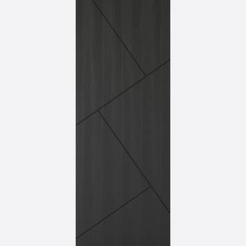 Pre-finished Dover Embossed Charcoal Grey Internal Door Wooden Timber