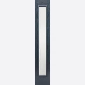 Pre Finished GRP Grey Elegant Glazed Sidelight