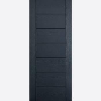 Pre Finished Grey GRP Modica External Door