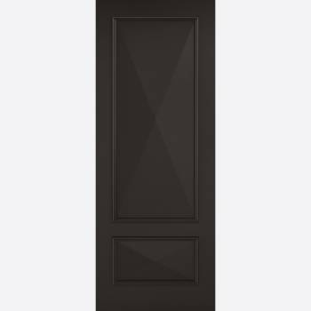 Black Primed Knightsbridge Solid Internal Door