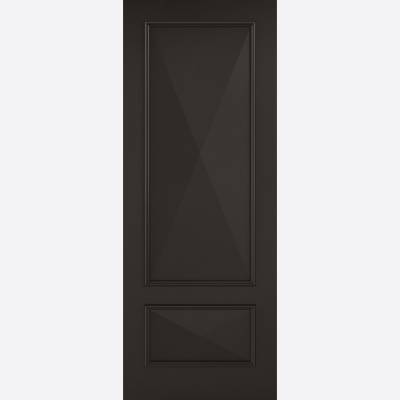 Black Primed Knightsbridge Solid Internal Door  - Door Size,...