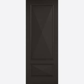 Black Knightsbridge Solid Internal Fire Door