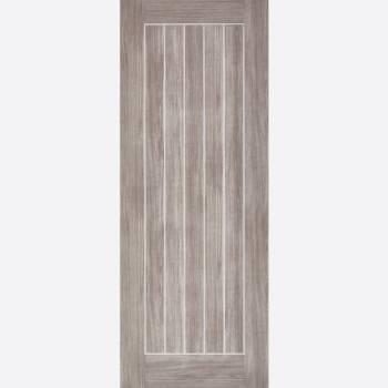 Laminated Light Grey Mexicano Internal Fire Door
