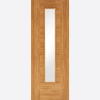 Laminated Oak Glazed Ottawa Internal Door