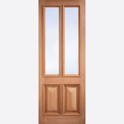Hardwood Islington Clear Glazed External Door  - Door Size, ...