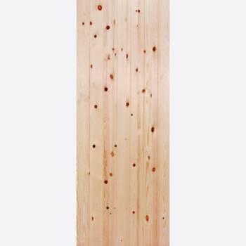 Redwood Ledged & Braced External Door