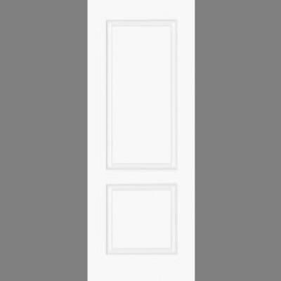 Pre Finished White Smooth Bruges Moulded Door  - Door Size, ...