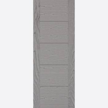 Laminated Vancouver Grey Internal Fire Door