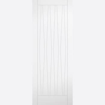 Costa Rica White Primed Internal Door