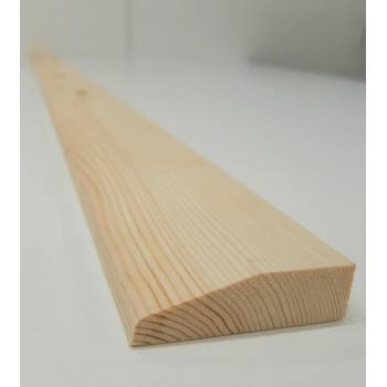 """Architrave Chamfer Timber Softwood Pine Various Lengths 69x20mm 3"""""""