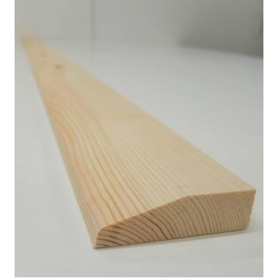 Architrave Chamfer Timber Softwood Pine Various Lengths 69x...