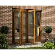 Folding Sliding Bifold Trifold French Patio External Doors 2.1m 7ft Smoothfold