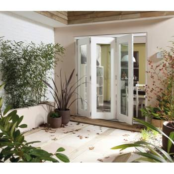 Folding Sliding Bifold Trifold French Patio External Doors 3.6m 12ft Wellington