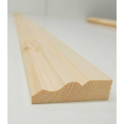 Architrave Ogee Timber Softwood Pine Various Lengths 69x20m...