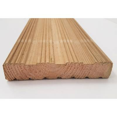 Timber Wooden Decking Board Reversible Various Lengths 144x2...