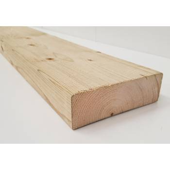 Treated Timber Sawn Post  Joist Pressure Fencing Decking Fence 145x44mm 6x2""