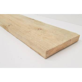 Treated Timber Sawn Post  Joist Pressure Fencing Decking Fence 150x25mm 6x1""
