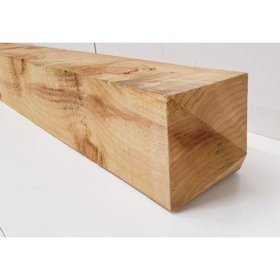 """Treated Timber Sawn Driveway Gate Post 200x200mm 8x8"""" ..."""
