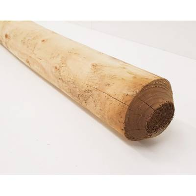 """100mm 4"""" Round Pressure Treated UC4 Pole Timber 2.4m 8'..."""